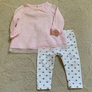 Carter's Baby Girl Star Outfit